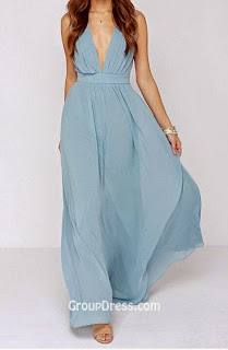 Groupdress: Light Blue Dress