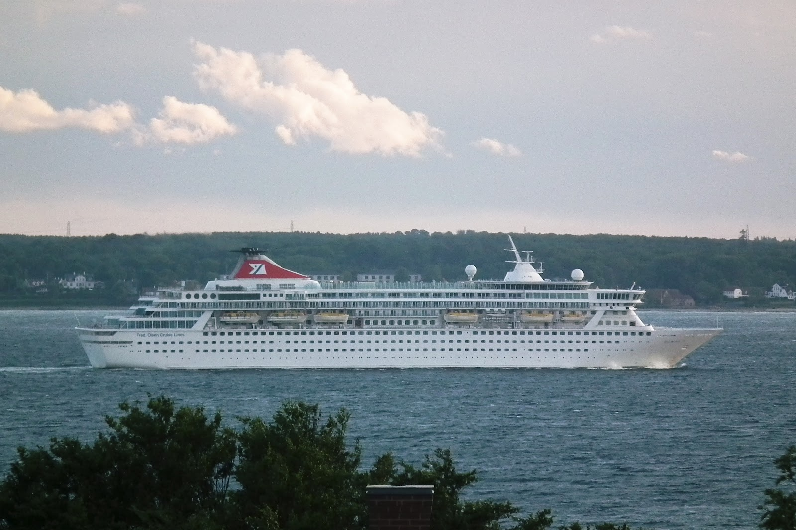 The things i enjoy the cruise ship balmoral in the sound