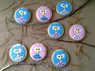 galletas búhos- galletas personalizadas- El arte de los Detalles-