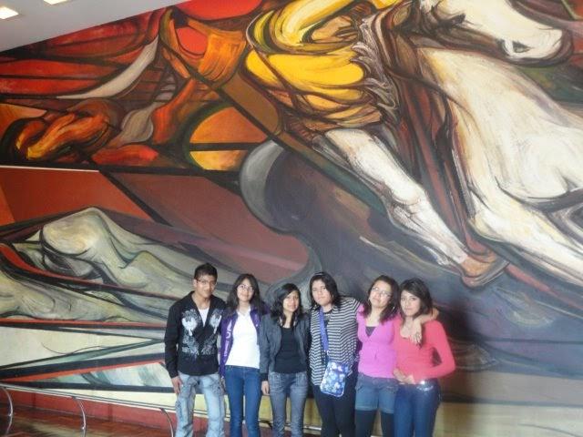 Equipo a historia de mexico ii analisis de un mural for Caracteristicas de un mural