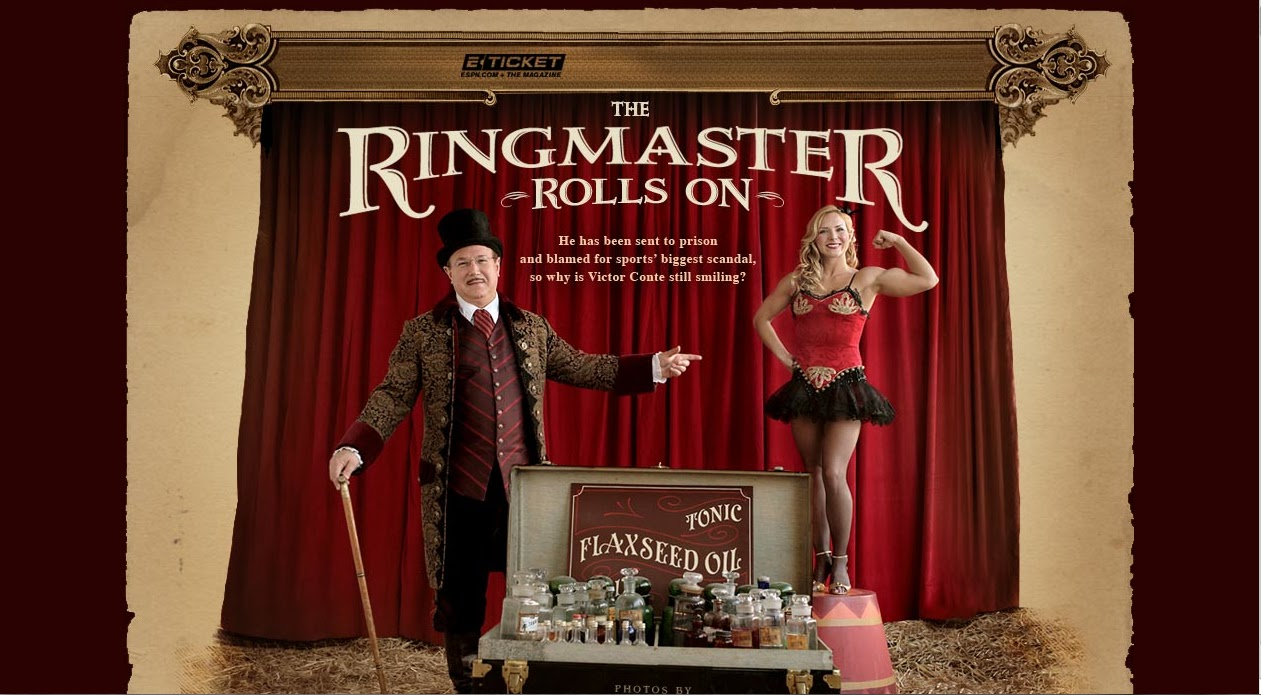 The Ringmaster Rolls On