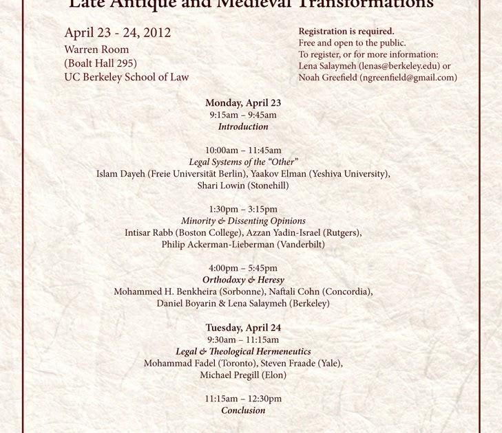 Legal History: Legal History Blog: Symposium: Legal Heterodoxy In Islamic