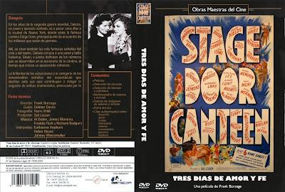 Tres días de amor y fe | 1943 | Stage Door Canteen | DvD Cover