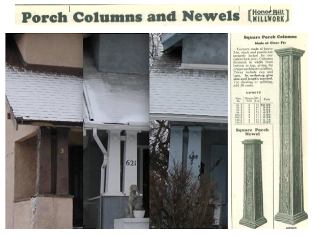 sears building materials catalog porch columns