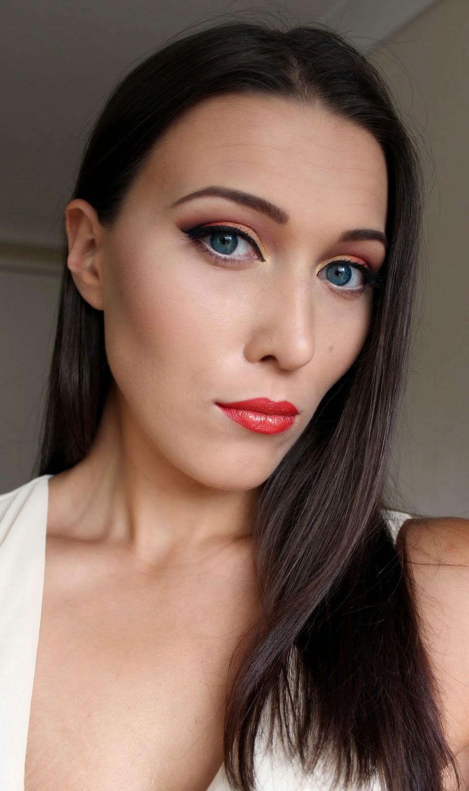 Wedding Guest Eye Makeup Tutorial : Make-up Art by Ingrida Ramanauskaite: Colorful Cat Eye ...