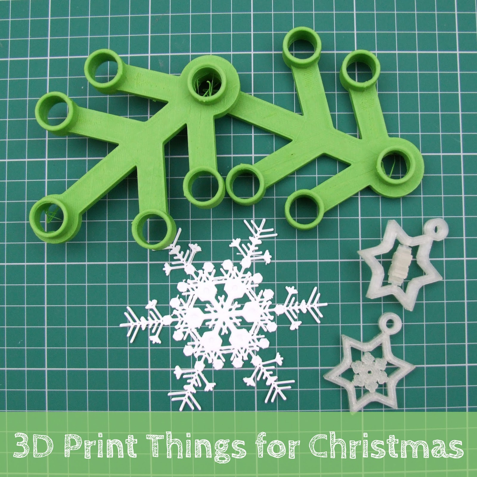 fun christmas things to 3d print for kids and teen