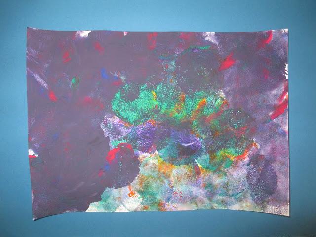 Gestalten mit Farbe und Luftballons