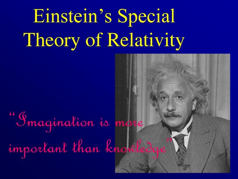 modern life is rubbish einstein 39 s theory of relativity