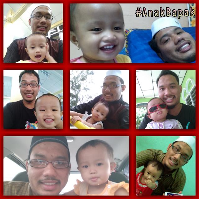 Selfie-anak-bapak-yang-ceria