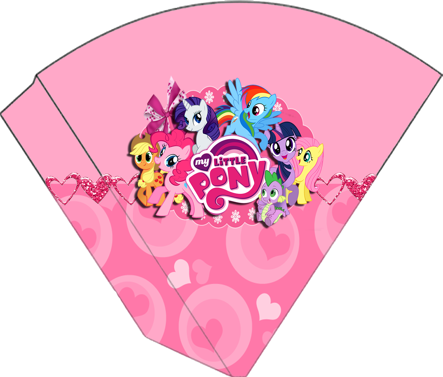 Para conos de My Little Pony.