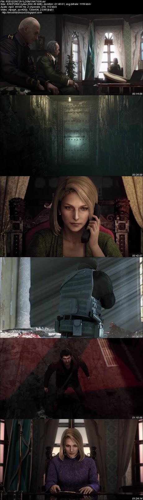 Resident Evil Damnation 2012 imágenes película