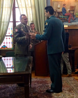 Nadador Alberto Morano Guardia Civil Academia Infantería Toledo