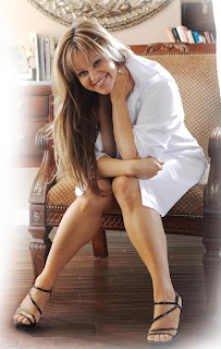Jenni Rivera sexy photo in white shirt