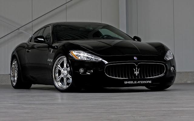 Black Maserati Wheels and More