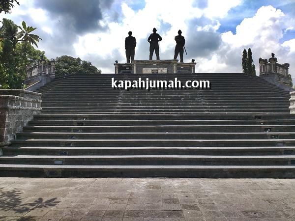 Monumen Perjuangan Tri Yudha Sakti di Singaraja