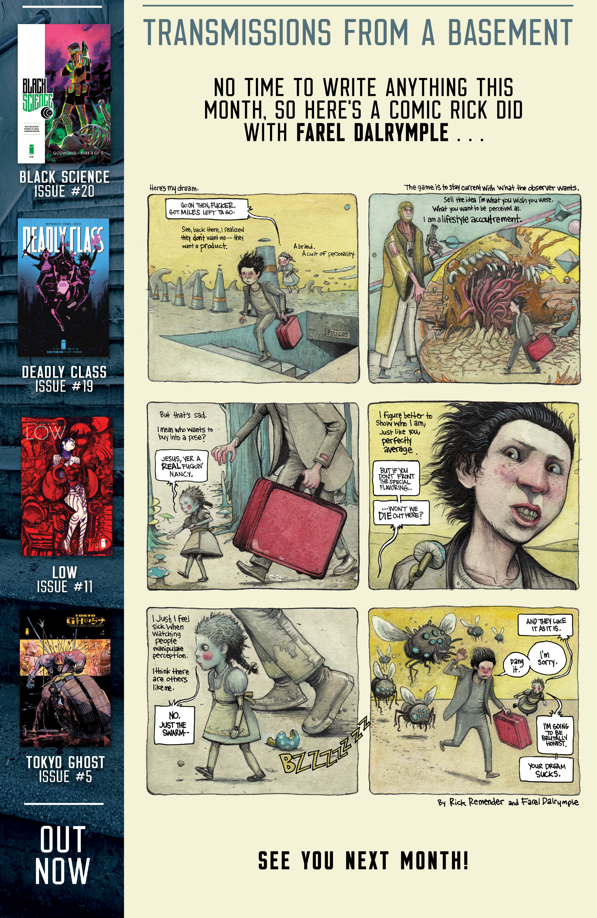 Read online Deadly Class comic -  Issue #19 - 29