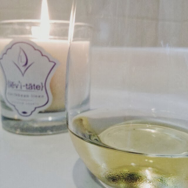 Bubble bath, wine, candle, relax, bath, spa