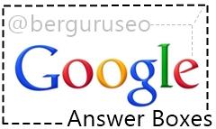 Pengertian Google Answer Boxes
