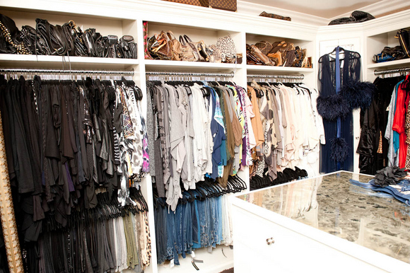 Inside Khloe Kardashian's Closet - Provocative Woman