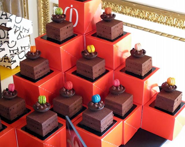 Cubes tout chocolat - Jonathan Blot (Acide macaron)