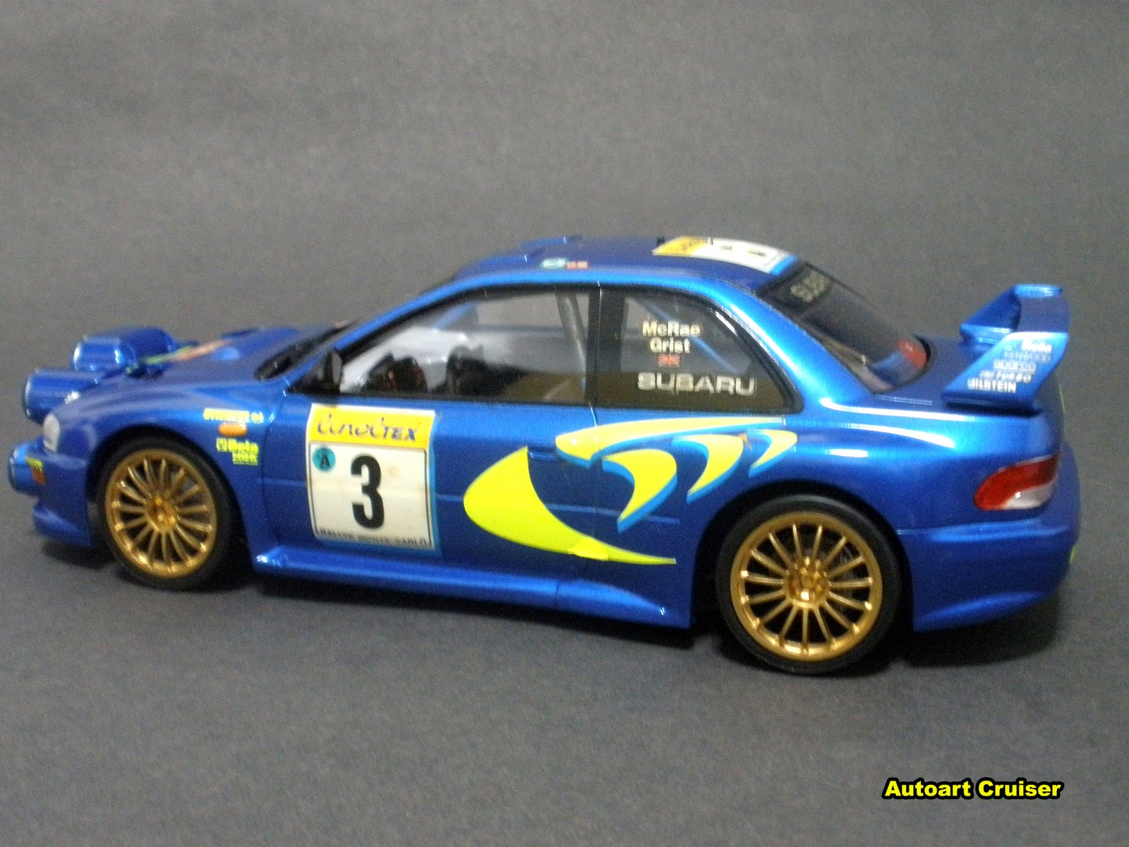 Subaru Wrc http://autoartcruiser.blogspot.com/2011/02/re-shoot-of-mytamiya-124-wrc-subaru.html