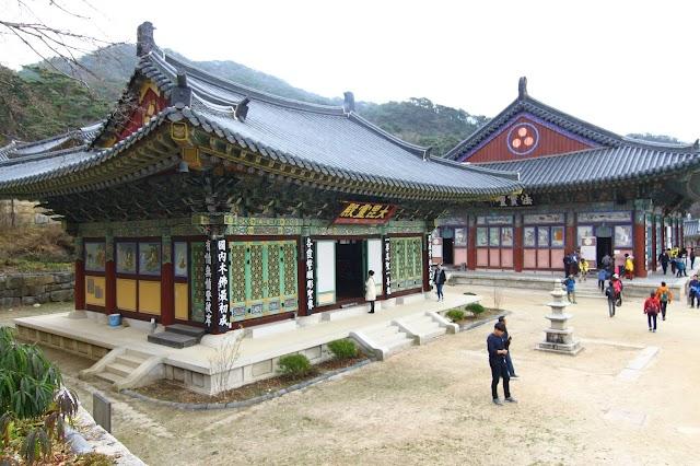 80 Hari di Korea : Hari 67 (Hiking dari Sorigil ke Haeinsa Temple)