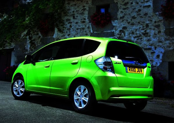 2012 honda jazz hybrid lime green automotive todays. Black Bedroom Furniture Sets. Home Design Ideas