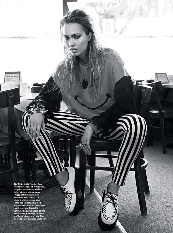 Haley Sutton - Cast Images Model - 7x7 Magazine