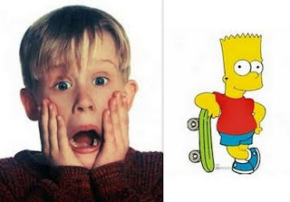 Macaulay Culkin Bart Simpson