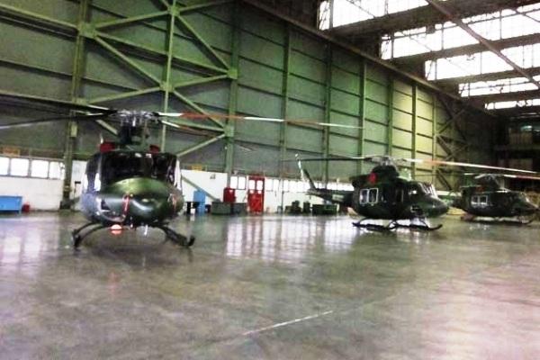 Helikopter Bell-412 EP Produksi PT Dirgantara Indonesia. PROKIMAL ONLINE Kotabumi Lampung Utara