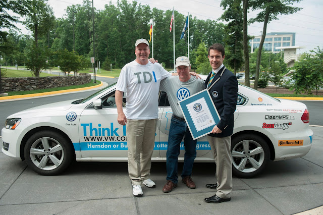 VW Passat TDI Sets Guinness World Record for Fuel Economy at 78 mpg