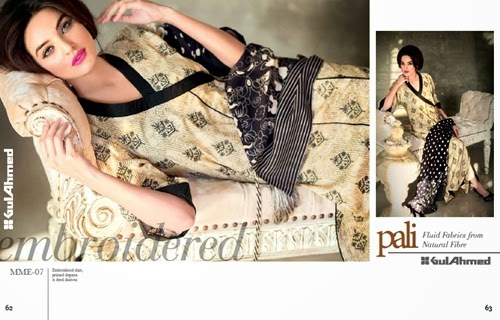 Gul Ahmed Pali Embroidered