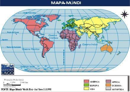mapa del mundo politico. MUNDO VASTO MUNDO