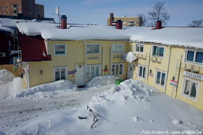 Yellow house, Kiruna