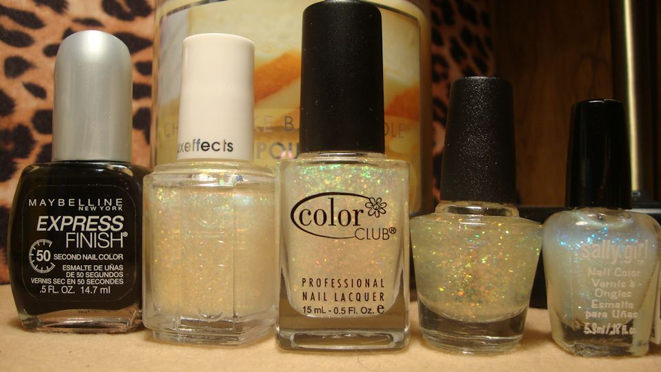 Dysphoria Nails: Essie\'s Shine of The Times dupe comparison