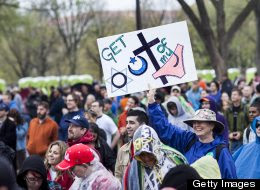Atheists Rally On National Mall; The 'Reason Rally' Largest Gathering Of Nonbelievers