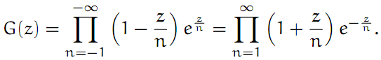 Complex Analysis: #26 The Gamma Function I equation pic 2