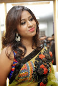 Manali rathod sizzling photos in saree-thumbnail-15