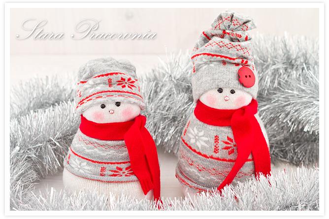bałwanki, ozodby świąteczne