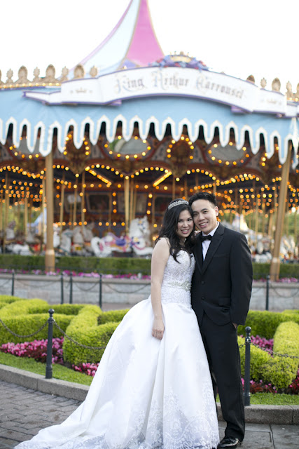 Disneyland Wedding {Sarina Love Photography}