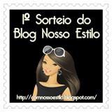 PRIMEIRO SORTEIO DO BLOG