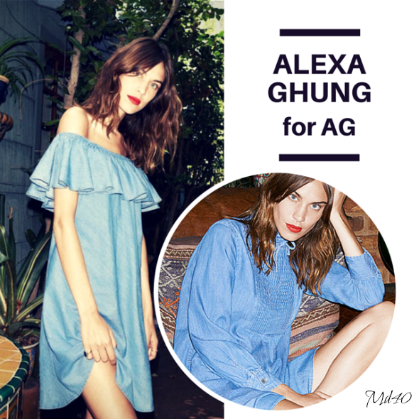 Little Denim Dress LDD Alexa Chung fondo de armario