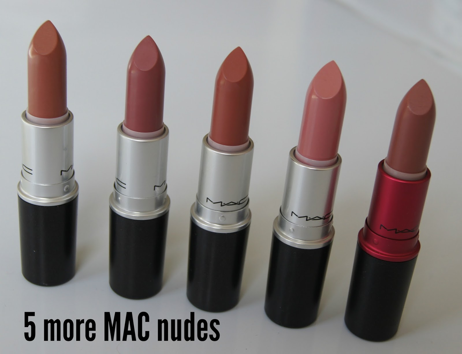 MAC nude lipstick review