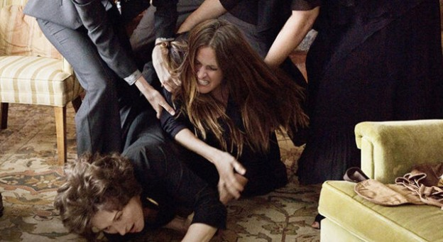 'August: Osage County' Julia Roberts, Meryl Streep