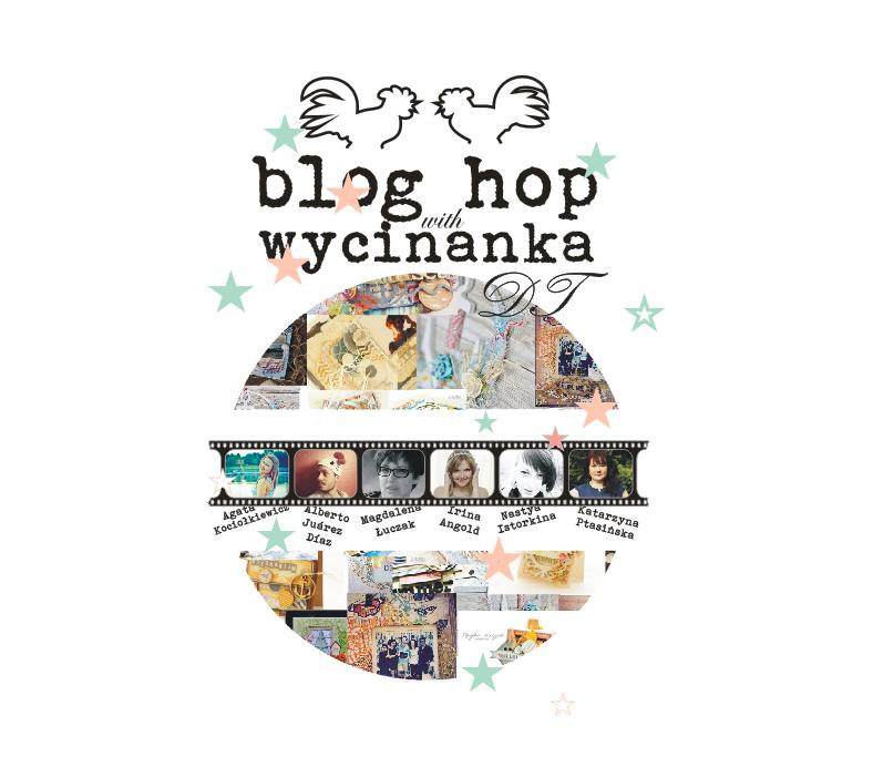 """Wygrałam na blogu Chandrelli w ramach """"blog hop"""" w Wycinance"""