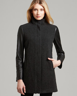 High Collar Coat for Women