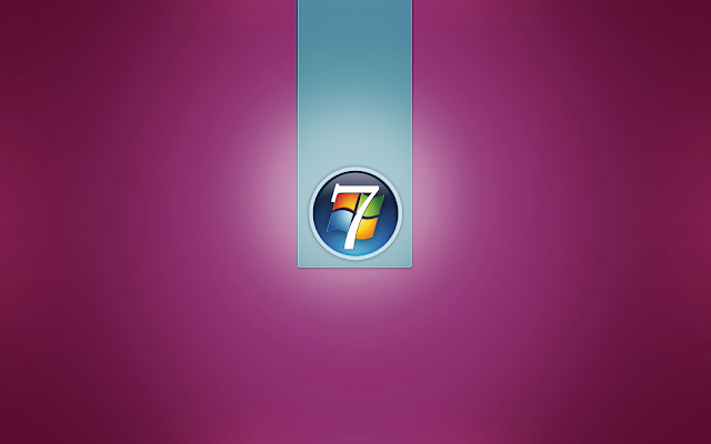 Rosa windows 7 bild