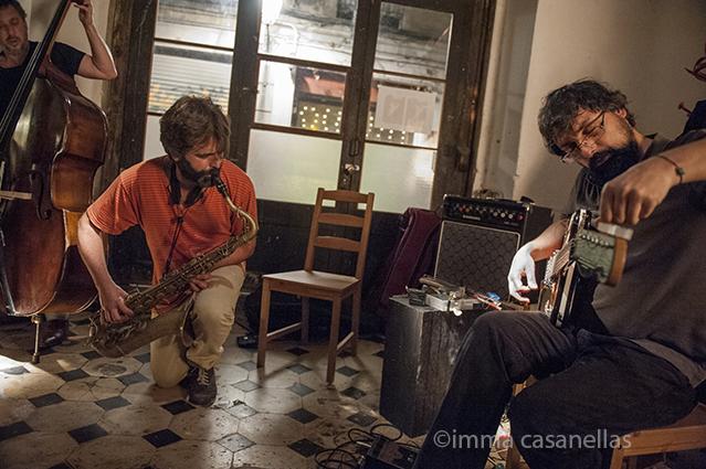 Hernani Faustino, Albert Cirera i Pablo Rega, Taller Milans, Barcelona 8-5-2015