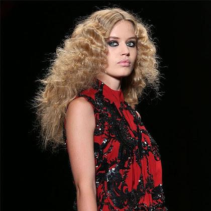 Trendy we fryzurach jesień 2013 - Cavalli