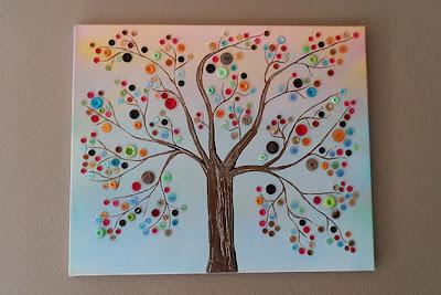 Como fazer um quadro com botões